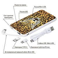 Портативное зарядное устройство Леопард, 5000 мАч (E505-19), фото 1