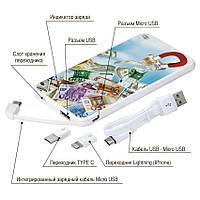 Универсальная батарея Денежный магнит, 5000 мАч (E505-26), фото 1