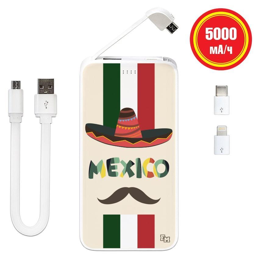 Внешний аккумулятор Мексиканец, 5000 мАч (E505-08)