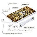 Повербанк с изображением Леопард, 5000 мАч (E505-19), фото 4