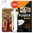 Павер банк Мексиканский кактус, 5000 мАч (E505-25), фото 6