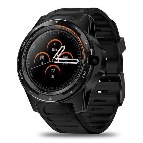 Умные часы Zeblaze Thor 5 с 4G и двойным процессором Черный (swzebth5bl)