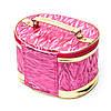 Красивые косметички женские профессиональные розовые с ручкой комплект 3 шт S2, фото 2