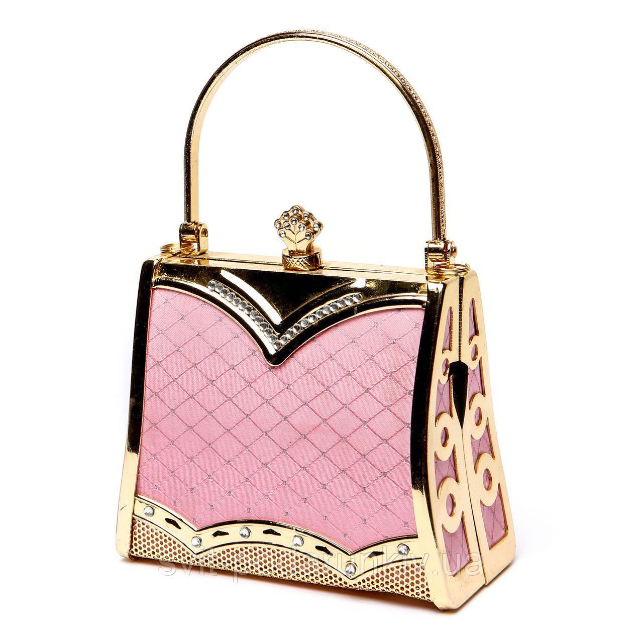 37d02b71ec30 Розовый клатч на цепочке S05, цена 423 грн., купить в Киеве — Prom ...