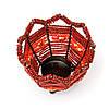 Декоративный подсвечник бисер PC-2 красный, фото 2