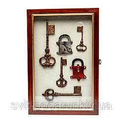 """Ключница для ключей настенная """"Ключики"""""""