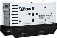 Аренда дизельной электростанции SDMO J130K | аренда генератора дизельного 100 кВт в аренду
