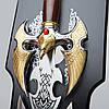 Меч декоративный T008 сувенирный подарочный, фото 2