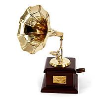 Граммофон AF144M мини золотой граммофон