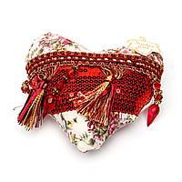 Подушка сердце декоративная LH-10AB