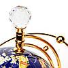Глобус светящийся вращающийся из камня с пультом управления DS220T, фото 4