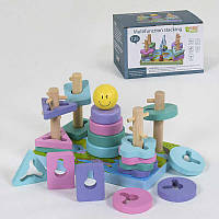 Деревянная игра Логическая пирамидка С 39375 50 - 219746