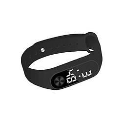 Часы браслет LED Led Watch №2 чёрные