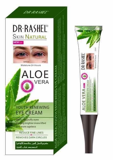 Крем под глаза с гиалуроновой  кислотой, скваленом  и маслом Ши Dr. Rashel Aloe Vera  Eye Cream   20 мл