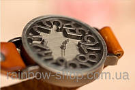 РАСПРОДАЖА!Оригинальные женские часы, ремешок КОЖА