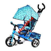 Велосипед трехколесный ЛЕКСУС 5361- Надувные колёса