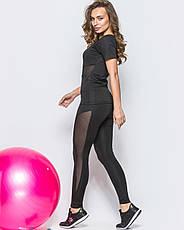 "Костюм для фитнеса со вставками сетки ""Glam"", фото 2"