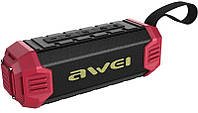 Портативная акустика AWEI Y280 Bluetooth Speaker-Power Bank Red