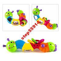 Развивающая игрушка-ломалка Веселая гусеница