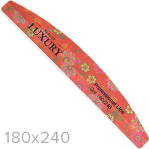 Luxury Пилочка для ногтей минерал. MF-36 цветная сегмент 180х240