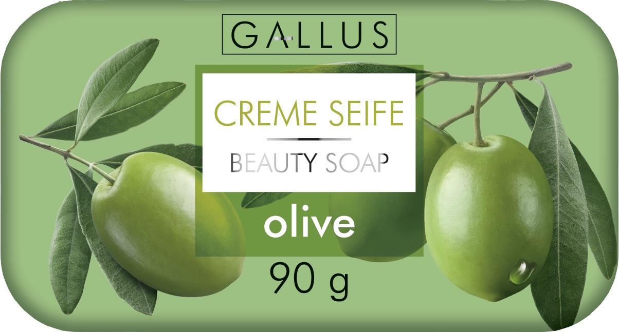 Твердое мыло 90 гр Olive Gallus Creme Seife 4251415300957