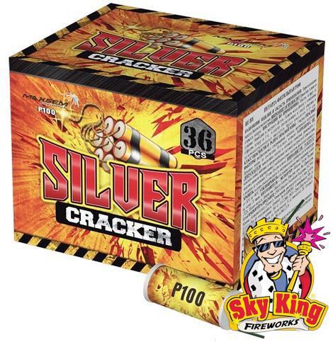 Петарда Silver Cracker  36шт. Пиротехника. P100