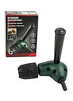 Угловой адаптер для дрели Parkside 13х15см Зеленый