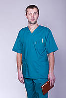 Мужской хирургический костюм 2224  ( батист 42-60 р-р )