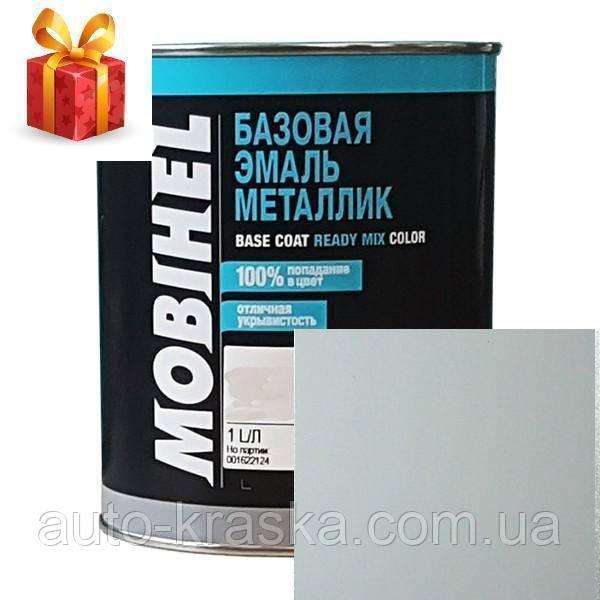 Автокраска Mobihel металлик 221 Ледниковый 1л.