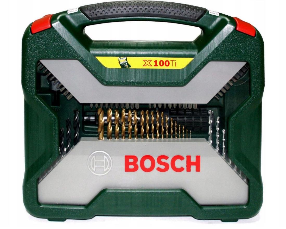 Набор BOSCH X-LINE TITANIUM из 100 штук в специальном пластиковом футляре