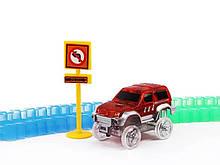 Дитяча іграшкова залізниця magic tracks 360 деталей + 2 машинки mega set