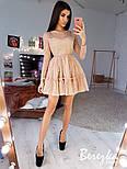 Женское платье с пышной юбкой в звездочку (в расцветках), фото 2