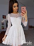 Женское платье с пышной юбкой в звездочку (в расцветках), фото 3
