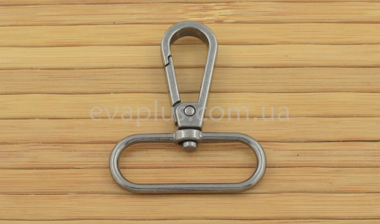 Карабин для сумки 38 мм. 1038ТН (темный никель)