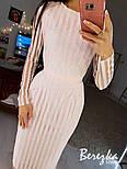 Женское платье с блестками по фигуре (в расцветках), фото 3