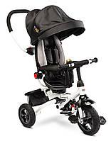 Детский трехколесный велосипед Caretero (Toyz) Wroom Black, фото 1