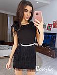 Женское платье с бахромой (в расцветках), фото 2