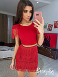Женское платье с бахромой (в расцветках), фото 3