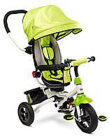 Детский трехколесный велосипед Caretero (Toyz) Wroom Green