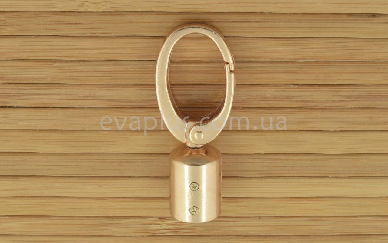 Карабин для сумки 14 мм. 914з (золото)