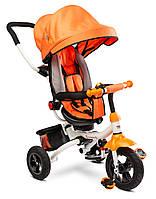 Детский трехколесный велосипед Caretero (Toyz) Wroom Orange, фото 1