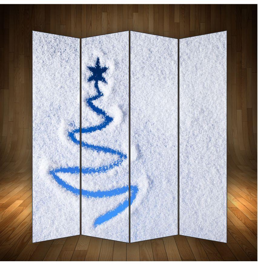 """Декоративна ширма"""" Новорічний сніг"""""""