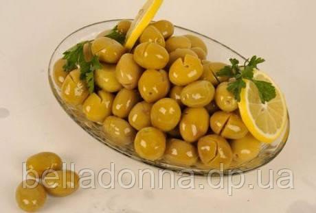 оливки зеленые надрезанные