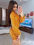 Женское сверкающее платье с пайетками (в расцветках), фото 6