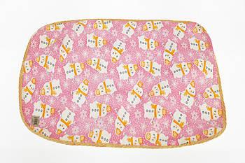 Клеенка-пеленка Снеговик 50*70 см