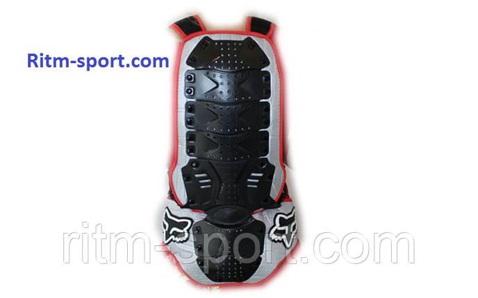 Мотозащита спины с поясничной опорой, фото 2