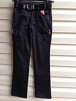 Классические брюки для девочек Атлас с замочками