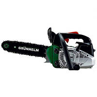 Бензопила цепная 2 кВт, 25 см3, шина 30 см, Grunhelm GS-2500 (83532/83531)