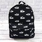 Яркий стильный рюкзак с принтом кроссовок Nike Для путешествий тренировок учебы TOPvse, фото 5
