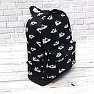 Яркий стильный рюкзак с принтом кроссовок Nike Для путешествий тренировок учебы TOPvse, фото 7